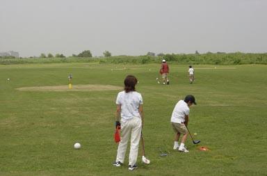スナッグゴルフ風景